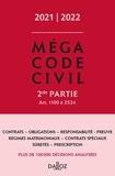 Dalloz - Méga Code civil - Tome 2.