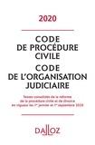 Laurent Dargent - Code de procédure civile - Code de l'organisation judiciaire.