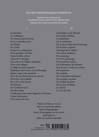 Oeuvres philosophiques complètes. 2 volumes