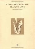 François Lesure et Denis Herlin - Collection musicale François Lang - Abbaye de Royaumont.