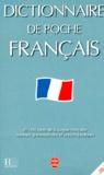 Jean-Pierre Mével et  Collectif - Dictionnaire de poche français - 40000 mots de la langue française, annexes grammaticales et encyclopédiques.