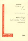 Christian Chelebourg - Victor Hugo, le châtiment et l'amour : sens de l'exil.