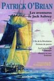 Patrick O'Brian - Les aventures de Jack Aubrey Tome 2 : L'île de la désolation ; Fortune de guerre ; La citadelle de la Baltique ; Mission en mer Ionienne.