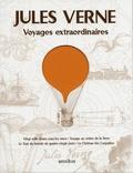 Jules Verne - Voyages extraordinaires - Vingt mille lieues sous les mers ; Voyage au centre de la Terre ; Le tour du monde en quatre-vingts jours ; Le château des Carpathes.