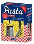 Solar - Pasta - Les 60 meilleures recettes de pâtes + la râpe à parmesan et la pince à spaghetti.