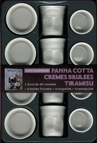 Solar - Coffret café gourmand - Panna cotta, Crèmes brulées, Tiramisu.