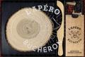 Birgit Dahl et Patrick Chevallot - Coffret l'apéro bûcheron - L'apéro bûcheron, des recettes d'apéros à partager avec avec 1 planche à découper, les piques apéro et la scie à saucisson.