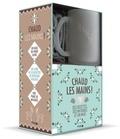 Solar - Coffret Chaud les mains ! - Le livre de recettes de boissons chaudes avec 1 paire de mitaines et 1 mug.
