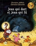 Christian Jolibois et Christian Heinrich - Les P'tites Poules  : Jean qui dort et Jean qui lit - Un livre pop up.