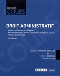 Jacqueline Morand-Deviller et Pierre Bourdon - Droit administratif - Cours, réflexions et débats.