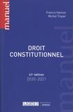 Francis Hamon et Michel Troper - Droit constitutionnel.