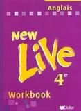 M Cocher - Anglais 4ème LV1 New Live - Workbook.