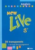 Odile Plays Martin-Cocher et Michèle Meyer - Anglais 3ème New live - Transparents et livret d'accompagnement.