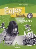 Odile Martin-Cocher - Enjoy English in 4e Palier 2 1e année A2-B1 - Workbook.