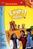Odile Martin-Cocher et Michèle Meyer - Enjoy english ! 5e - Cahier de révision. 1 CD audio MP3