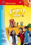 Odile Martin-Cocher et Michèle Meyer - Anglais 5e Enjoy English - Cahier de soutien. 1 CD audio MP3
