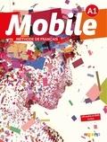 Alice Reboul et Anne-Charlotte Boulinguez - Méthode de français Mobile A1. 1 DVD + 1 CD audio
