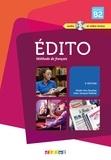 Elodie Heu et Jean-Jacques Mabilat - Edito niveau B2 - Méthode de français. 1 DVD + 1 CD audio