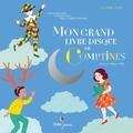 Mon grand livre-disque de comptines / Illustrations Clémence Pollet | Pollet, Clémence (1985-....)