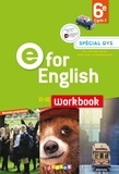 Mélanie Herment - E for English 6e A1>A2 - Workbook.