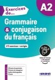 Ludivine Glaud et Muriel Lannier - Exercices de Grammaire et conjugaison du français A2.