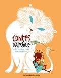 Jean-Jacques Fdida et Rémi Courgeon - Contes d'Afrique - Les paroles anciennes sont comme les graines, semées dans la terre, gorgées de soleil, mouillées par la pluie. Elles se changent en fleurs puis deviennent fruits.