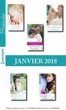 Collectif - 10 romans Blanche + 1 gratuit (Janvier 2018 n°1346 à 1350).