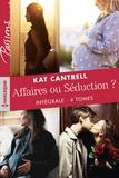 Kat Cantrell - Affaires ou Séduction ? - Intégrale 4 tomes.