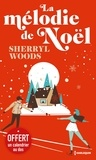 Sherryl Woods - La mélodie de Noël - Avec une jaquette calendrier.