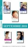 Collectif - 10 romans Blanche + 1 gratuit (n°1386 à1390 - Septembre 2018).