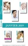 Collectif - 10 romans Blanche + 1 gratuit (n°1406 à 1410 - Janvier 2019).
