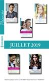 Collectif - 10 romans Blanche + 2 gratuits (n°1436 à 1440 - Juillet 2019).