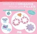 Didier Boursin - Drôles d'origamis pour les filles - Kit avec 112 feuilles décorées, avec 110 stickers !.