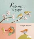 Emiko Yamamoto - Oiseaux de papier - 40 kirigami à découper.