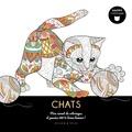 Isabelle Jeuge-Maynart et Ghislaine Stora - Chats - Mon carnet de coloriages et pensées 100 % bonne humeur !.