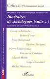 Jean-Philippe Bouilloud et Vincent de Gaujelac - Itinéraires de sociologues (suite...) - Histoires de vie et choix théoriques en sciences sociales.