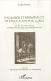 Carlos Pereira - Naissance et renaissance de l'équitation portugaise - Du XVe au XVIIIe siècle d'après l'étude des textes fondateurs.