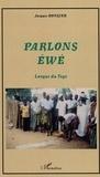 Jacques Rongier - Parlons éwé - Langue du Togo.