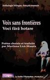 XXX - Voix sans frontières - Voci fara hotare - Anthologie bilingue, français-roumain.