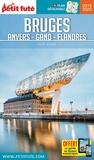 Petit Futé - Bruges, Anvers, Gand, Flandre. 1 Plan détachable