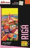 Petit Futé - Riga - Lettonie. 1 Plan détachable