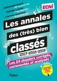 Abdushahid Izzaoui et Mathilde Larquey - Les annales des (très) bien classés ECNi 2017-2018-2019 - Les 54 dossiers corrigée, commentés et analysés.