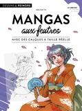 Van Huy Ta - Mangas aux feutres - Avec des calques à taille réelle.