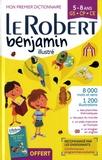 Le Robert - Le Robert benjamin illustré - Mon premier dictionnaire 5-8 ans GS-CP-CE.