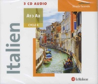 Le Robert - Italien Cycle 4 A1-A2 Strada facendo. 3 CD audio