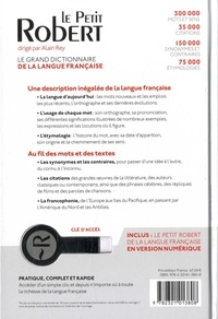 Le Petit Robert de la langue française  Edition 2020 -  avec 1 Clé Usb