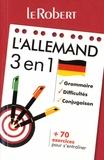 Le Robert - L'allemand 3 en 1.