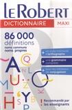 Le Robert - Le Robert maxi plus Langue Française.
