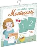 Céline Santini et Vendula Kachel - Mes chiffres rugueux Montessori.