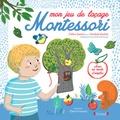 Céline Santini et Vendula Kachel - Mon jeu de laçage Montessori - Avec 1 arbre, 10 pièces à lacer et 4 lacets de couleur.